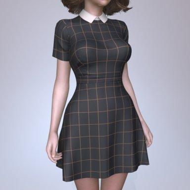 Dress Collar Bow V2