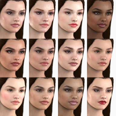 RenVR Originals: skin textures repack and presets