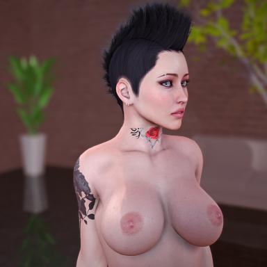 Punk look Anya