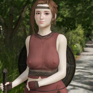 Kunoichi Cloth Armor (unisex)