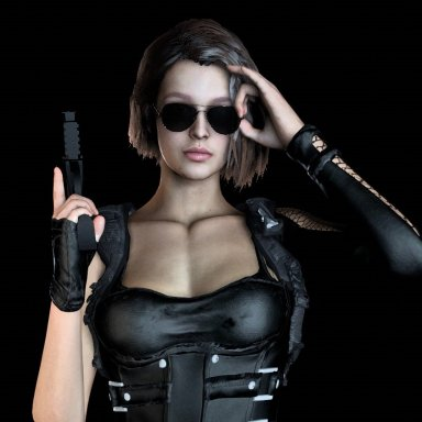 Jill Retribution Outfit and Swimsuit