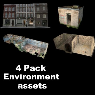 4 Pack Environment Assets