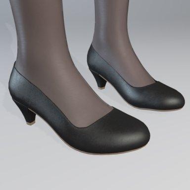 Office Lady Shoes HeelA01