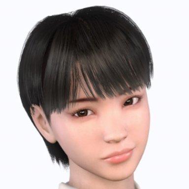 [Hairstyle] Short hair2