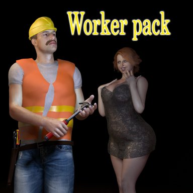 Worker pack & tools