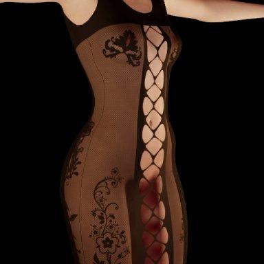 Fishnet Curvy Dress