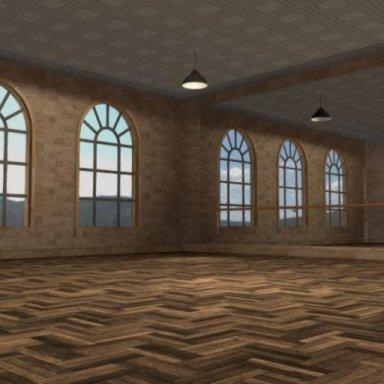 Sweat Academy Series: Dance Studio room