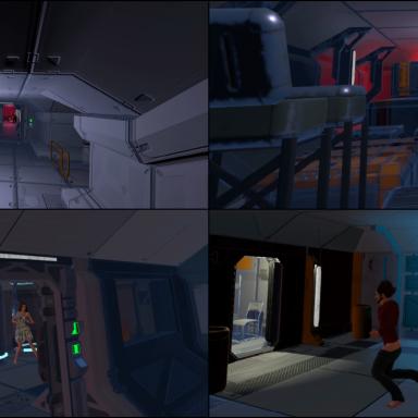 Mega Scene - Space Station