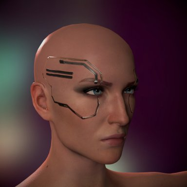 [Cyberpunk] Meredith Cyberware (Update removed eyeballs glitch)