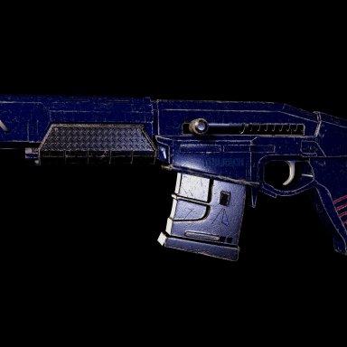 Cyberpunk Militech Assault Rifle