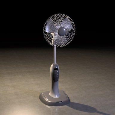 Animated Room Fan CUA