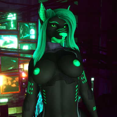 Sci-Fi Wolf