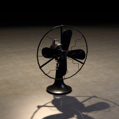 Retro Animated CUA Fan