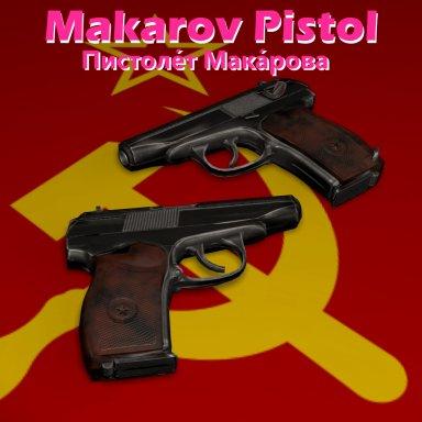 Makarov 9mm Pistol