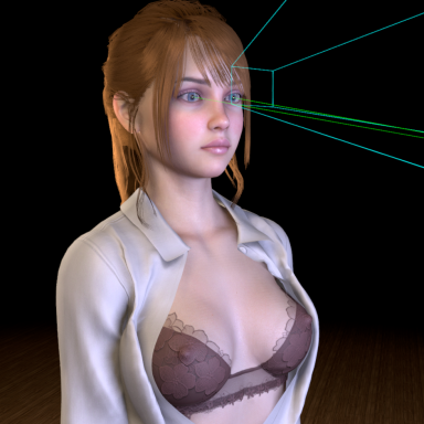 Glance: Realistic head-driven eye motion