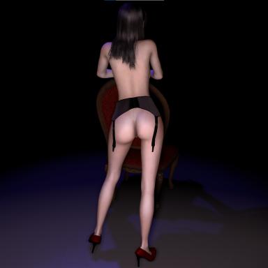 KM192 Sexy chair dance