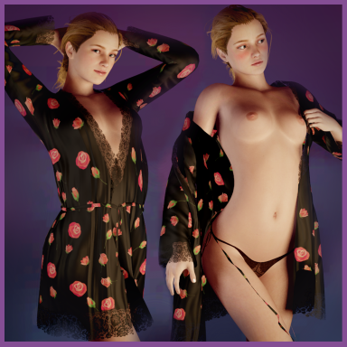 Roses Negligee