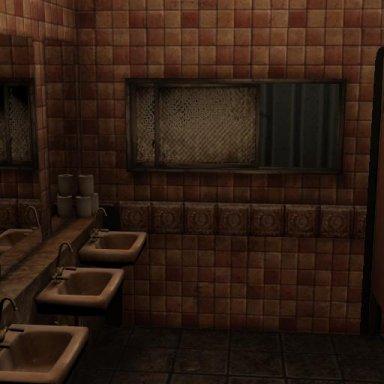 Public Washroom (Spooky)