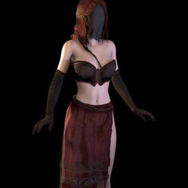 Desert sorceress-Dark souls