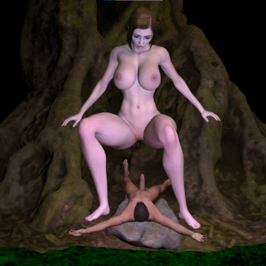 KM Giant woman in the forest