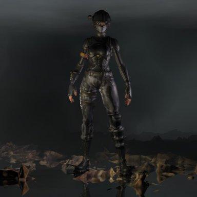 Fortnite Elite Agent 3D Model