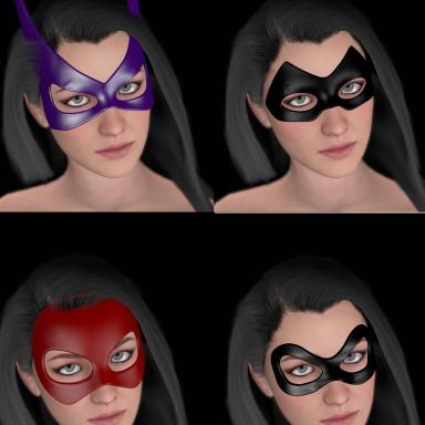 Superheroine Masks