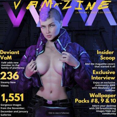 VaM-a-Zine: January 2021 Edition