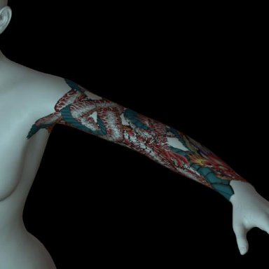 [NHNL] T021 : Wearable Tattoo for Left Arm 2