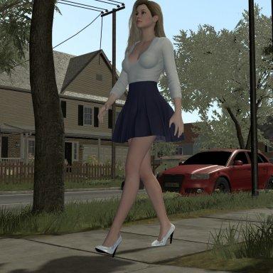 Flashing walk