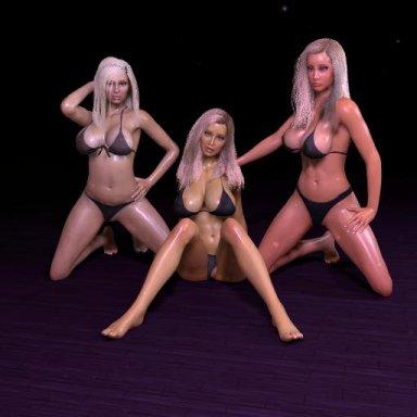 3 Sexy Blondes