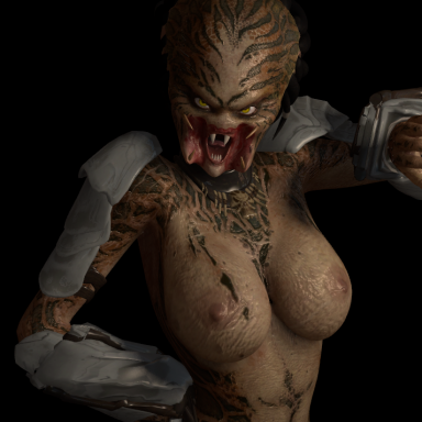 Female Alien Predator!