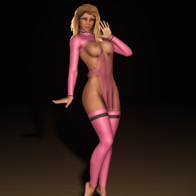 Pink Band Lingerie