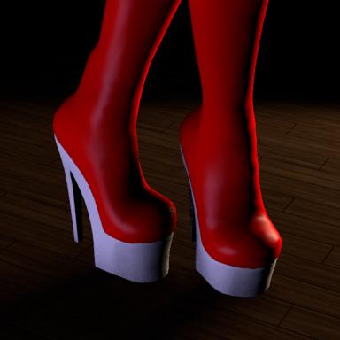 Lusty Heels set.