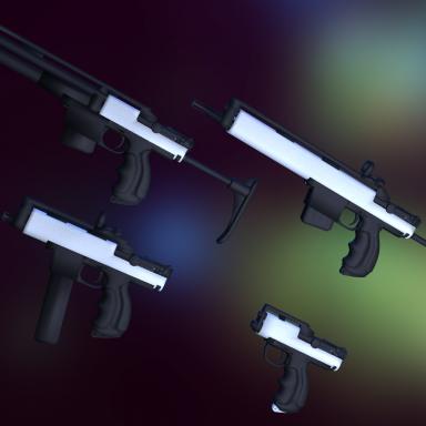 Haydee 2 Weapon models.
