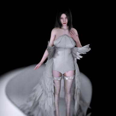 Yuna's wedding dress