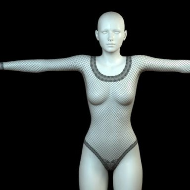 [NHNL] W003 : Lace Bodysuit 02