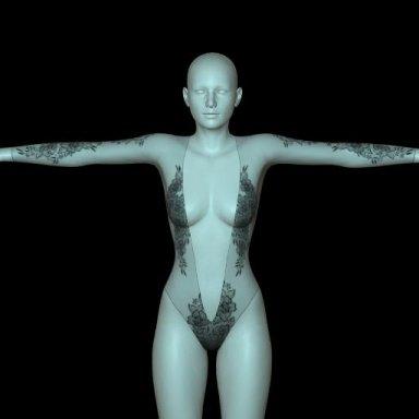 [NHNL] W005 : Lace Bodysuit 3