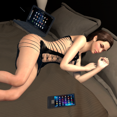 Sleeping SEX scene. (remade it using the link recording function)