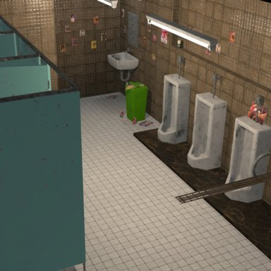 Public Wash Room