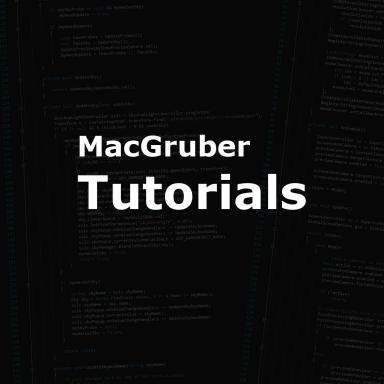 MacGruber's Video Tutorials