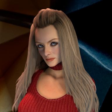Felicity Shag's hairstyle
