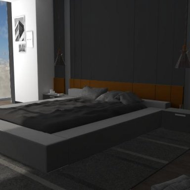Modern bedroom vol.1