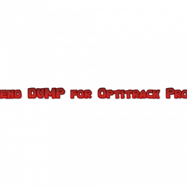 Content DUMP for OptitrackProject launch - TIME LIMITED