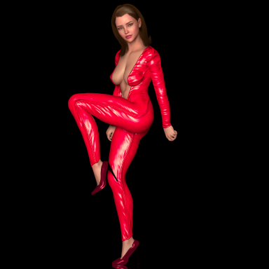 French Girl Dancing - Motion Capture
