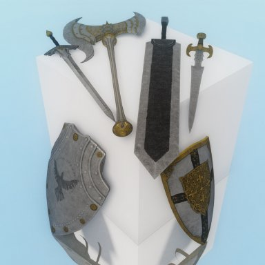 BDO Weapon pack 1