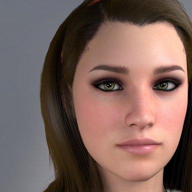 Eyeshadow and Eyeliner for Futa models