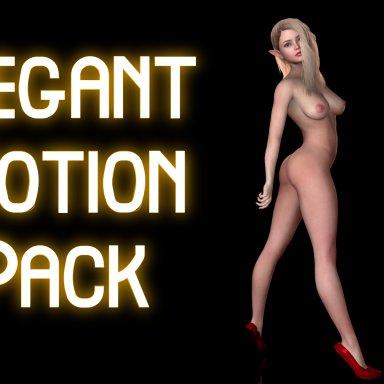 Elegant Motion Pack - Proper Female Mocap