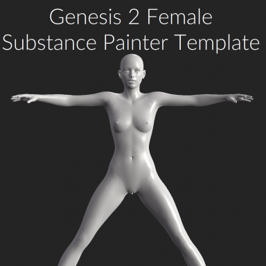 G2F Substance Painter Template with Material Groups