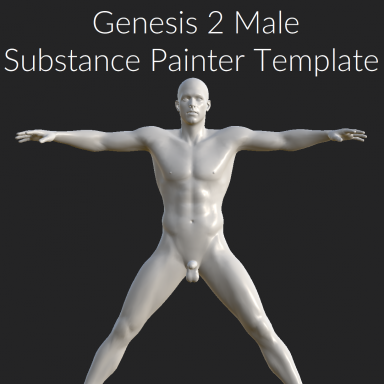 G2M Substance Painter Template with Material Groups