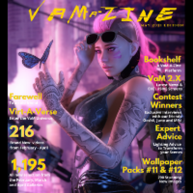 VaM-a-Zine: May 2021 Edition